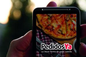 Apps de servicio delivery de comida