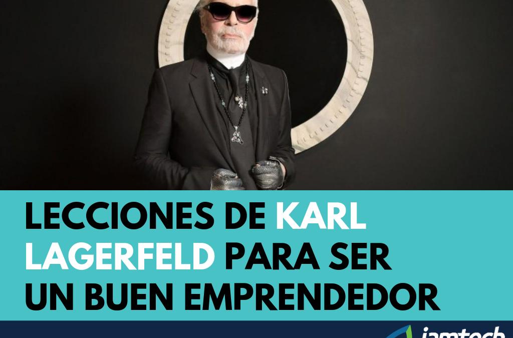 Lecciones de Karl Lagerfeld para ser un buen emprendedor