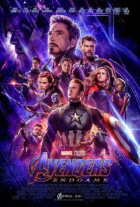 poster de avengers endgame